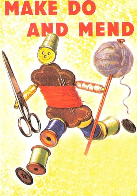 1940s postcard.