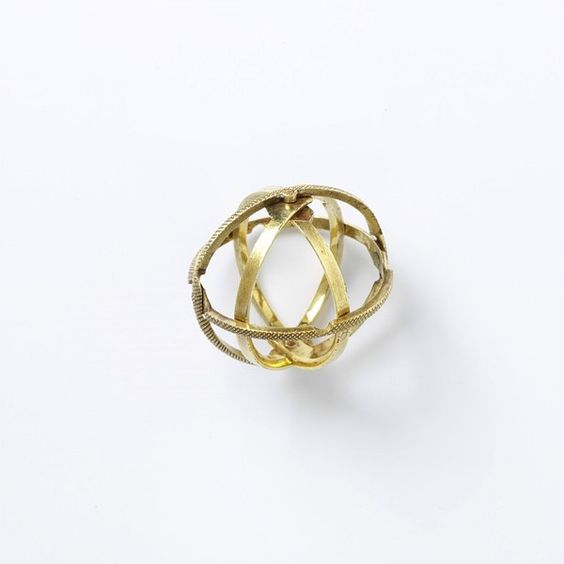 circa 1750-1800 ...this ring unfolds into an armillary sphere, used to show the movement of the planets around the sun.