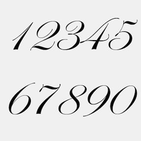 Customizable Edwardian Script Font Letters | Tattoo font ...