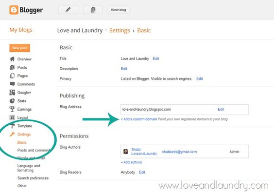 How to Turn Your .blogspot into a .com in Less Than 10 Minutes. How to add a custom domain to blogger.