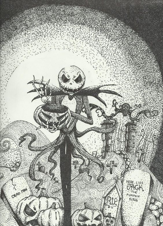 the nightmare before christmas artwork - Google Search