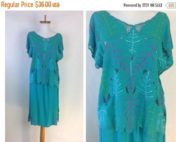Summer Sale Bali Dress Summer Dress Vintage Hippie Dress Cutwork Lace Top Beach Vacation Style Easy Fit possible S M by sixcatsfunVINTAGE on Etsy https://www.etsy.com/listing/387644120/summer-sale-bali-dress-summer-dress