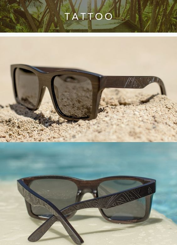 The Tribal Collection   Wooden Polarized Shades by Westwood Sunglasses — Kickstarter