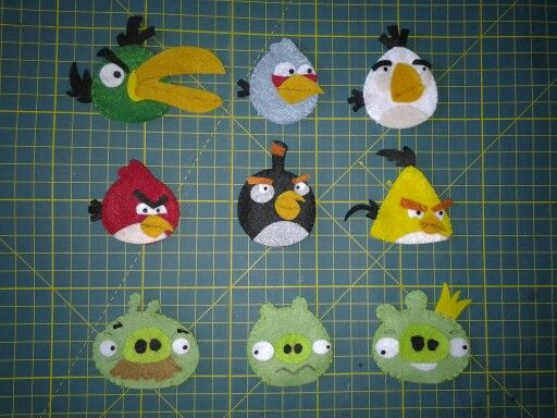 Dedoches Angry Birds