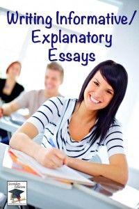 Blog Post: Teaching the Informative/Explanatory Essay