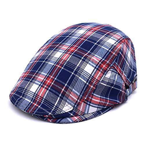 RICHTOER Men Newsboy Cap Leather Beret Leather Cap Flat Caps Winter Driving Caps