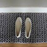 knit doormat