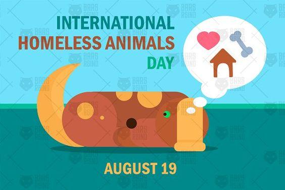 International Homeless Animal Day - #Illustrations