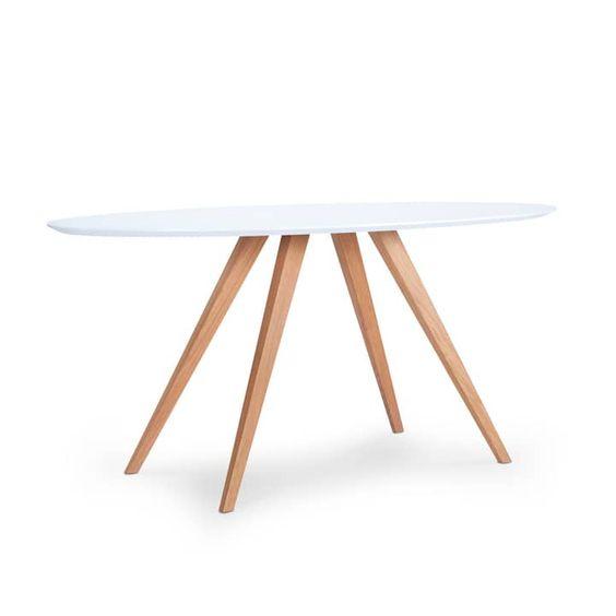 Loretta Tisch Oval Holztisch Ausziehbar Tisch Holztisch Baumstamm