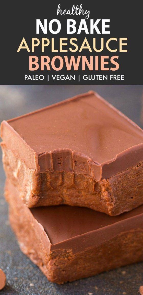 20 Healthy Recipes Using Applesauce Paleo Vegan Gluten Free The Big Man S World Recipe Using Applesauce Healthy Baking Applesauce Brownies