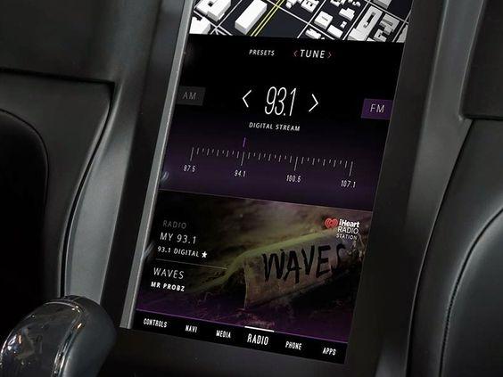 Radio - QNX 2015 Concept Car