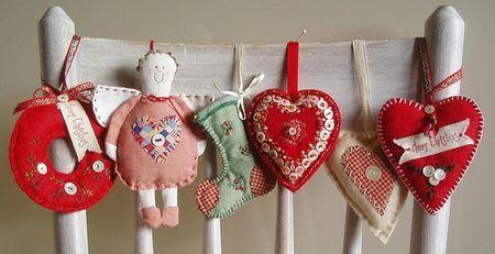 Adorable handmade Christmas ornaments #ornament #christmas