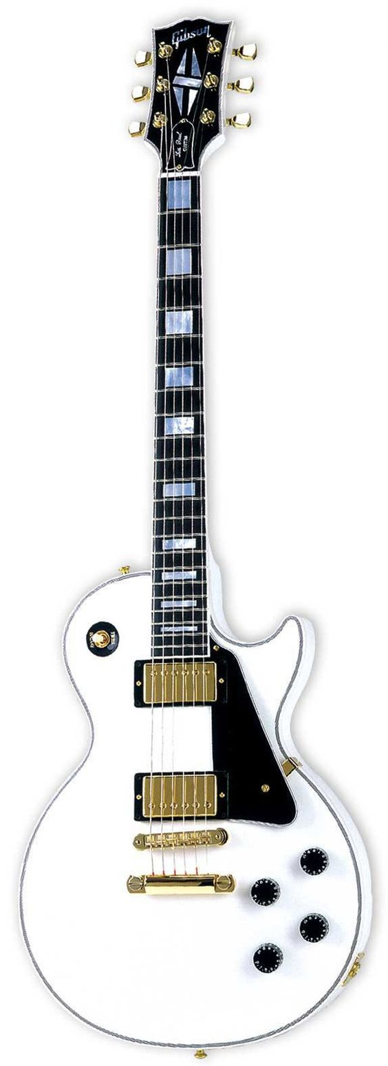 This one I love to have once: Gibson Les Paul Custom...just got one, now to play well enough to deserve it!