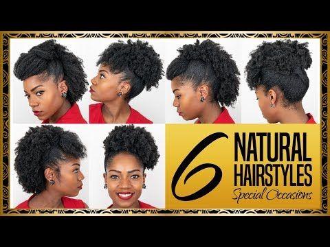 6 Natural Hairstyles For Medium Length Hair Special Occasions 4b 4c Natural Hair Youtube Medium Length Hair Styles 4c Natural Hair Hair Styles