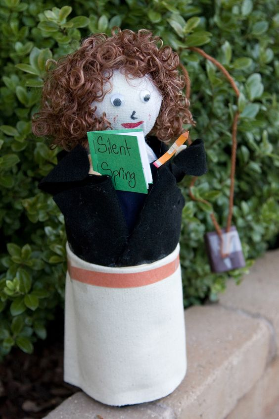 Rachel Carson ~ Biography Bottle Doll