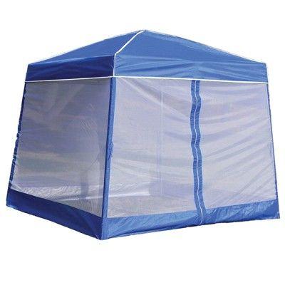 Z Shade 10 X 10 Horizon Angled Leg Shade Canopy Shelter With Screenroom Walls Shade Canopy Instant Canopy Canopy Tent