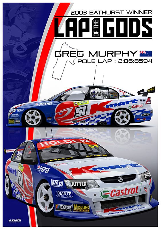 Print 121 Laps Of The Gods Australian Cars Vehicle Signage Hot Rods Cars Muscle
