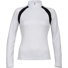 Special Offers Available Click Image Above: K-swiss Accomplish 1/2 Zip (women's) - White/black