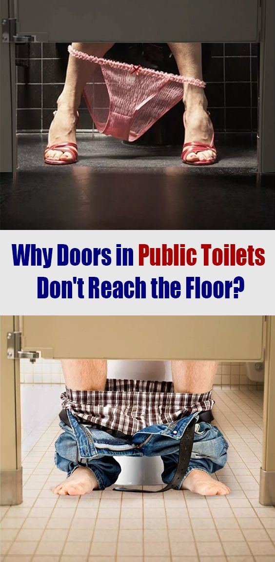 Have You Ever Wondered Why Toilet Stall Doors Aren T Fully Enclosed In 2020 Toilet Stall Doors Flooring Stall Door
