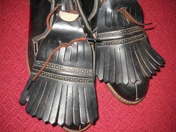 Vintage Knapp Golf Cleats with Shoe Savers Inside Size 11. $40.00, via Etsy.