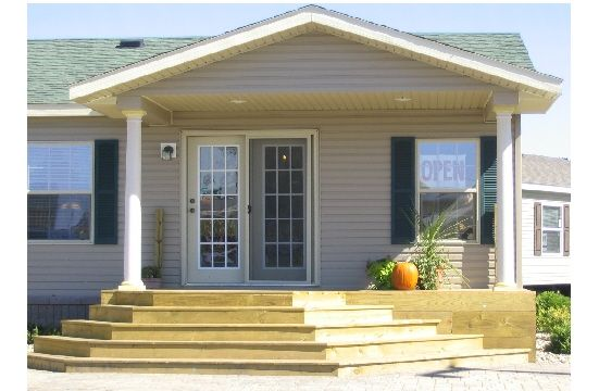 Mobile Home Front Porch Home Modular Manufactured Homes