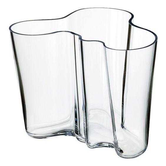 Iittala Small Alvar Aalto Vase in Clear