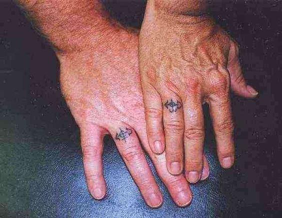 Lovely couple tattoo!!