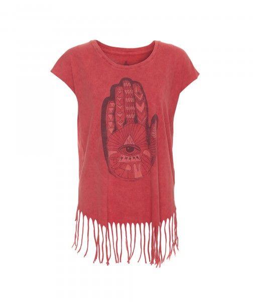 #MyVolcomTop5 T-shirt à franges Acid Rip - T-Shirts - Vêtements - Femme