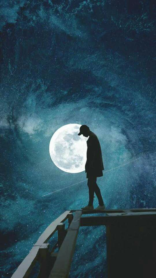 Moon Moonlight Night Wallpaper With Images Wallpaper Space