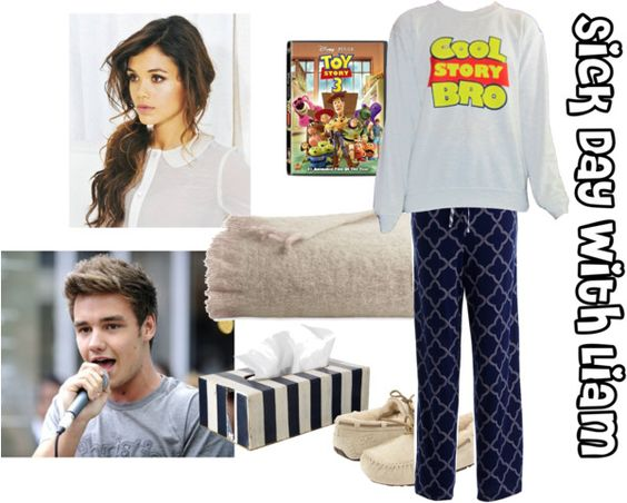 """""""Sick Day with Liam"""" by for-the-love-of-music ❤ liked on Polyvore"""
