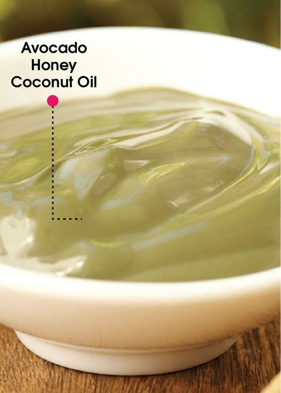 Avocados are great for your body, inside and out! This DIY Avocado Deep Conditioning Hair Mask is made with honey and coconut oil to create a moisturizing treatment for dry and damaged hair.: