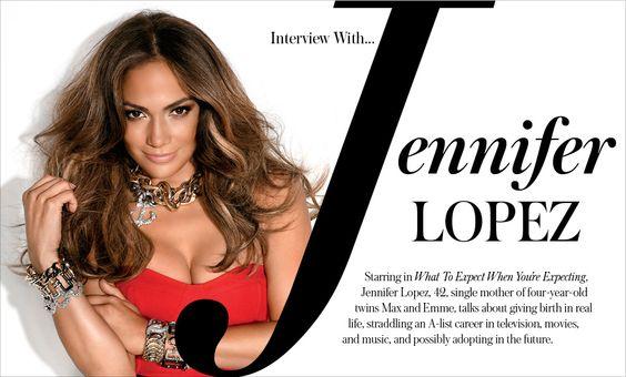 Interview With... Jennifer Lopez - Magazine | Savoir Flair