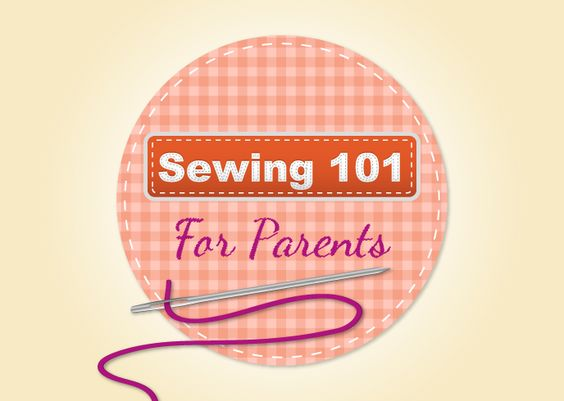 An easy to follow guide for sewing on buttons, patches, turning up hems and much more!