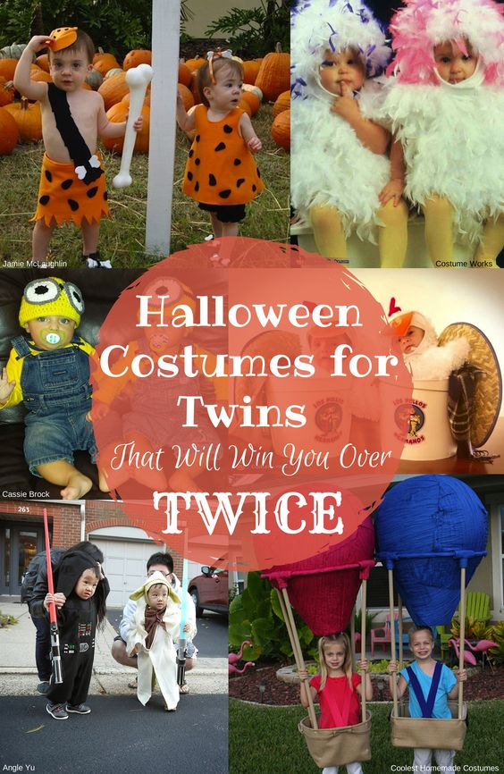 Halloween Costumes For Twins That Will Win You Over, Twice - twin boy halloween costume ideas