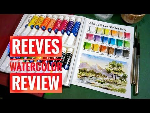 Reeves Watercolor Review School Grade Or Student Grade