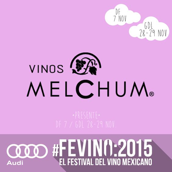 #VinosMelchum y #HaciendaGuadalupe Presentes en #Fevino! #VinoMexicano