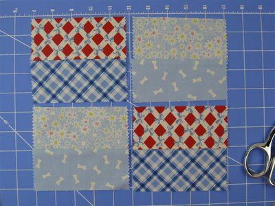 """Imagine Fabric Blog: How to Make a Quilt Block using 5"""" Quilt Squares"""