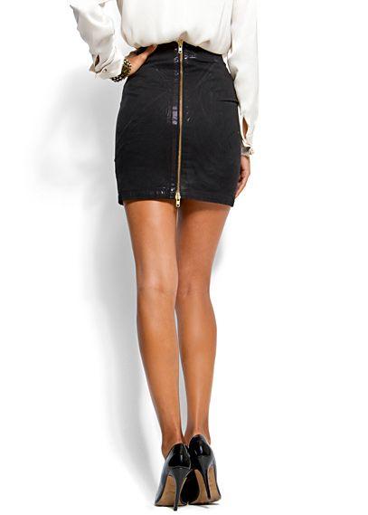 Skater Skirt   Pleated Mini Skirt   Thrifted & Modern ...