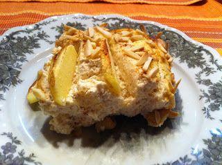 Wessels Küchenwelt: Quarkauflauf mit Äpfeln und Mandelsplitter