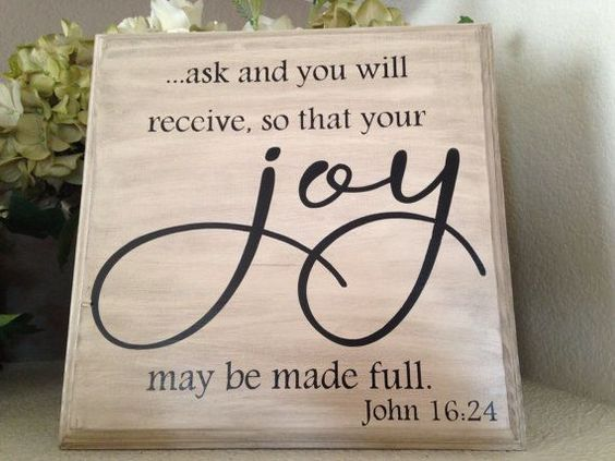 July 12, 2015 It's simple God tells us Ask and we shall receive but sometimes what we ask for isn't what is in our plan and that is the lesson we need to learn but we can't seem to understand can we?