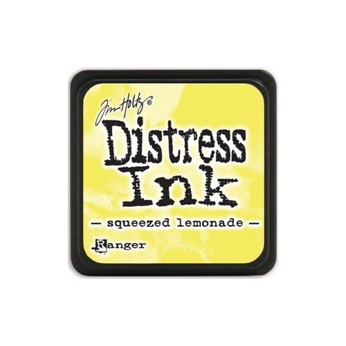 Tim Holtz Distress Mini Ink Pad SQUEEZED LEMONADE Ranger