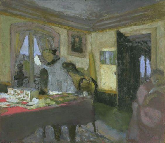 Édouard Vuillard (French, 1868-1940),The Laden Table[La Table encombrée], c. 1908. Pastel on paper on board, 47 x 54.6 cm.