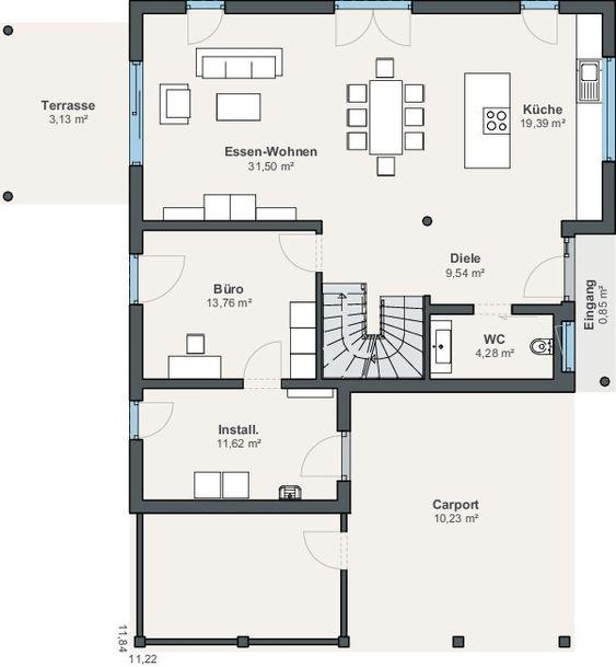 Weberhaus Einfamilienhaus Generation 5 5 Dachform Pultdach In 2020 Weber Haus Dachformen Pultdach