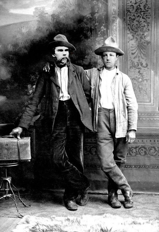 Paul Verlaine and Arthur Rimbaud,: