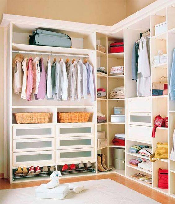 organização closet