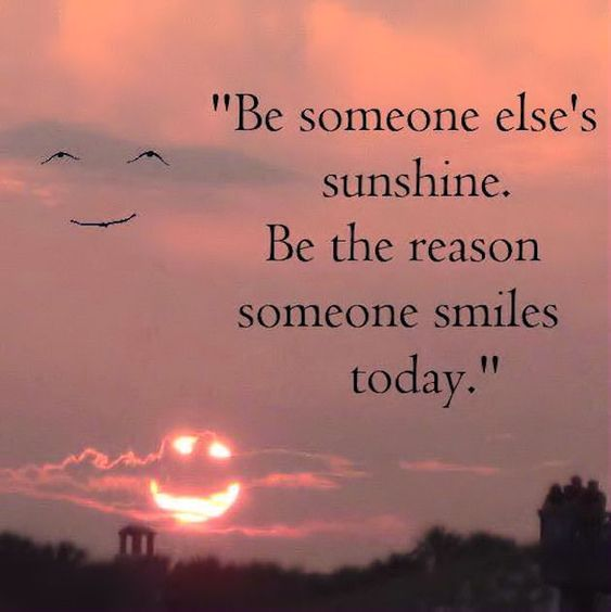 Beautiful Inspirational Quotes: Be The Reason Spmeone Smiles Today Life Quotes Quotes