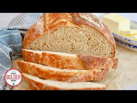 This No Knead Whole Wheat Bread Recipe Is Perfect For Beginners Follow My Step By Step Instructions To Make This Cr Wheat Bread Recipe Whole Wheat Bread Bread