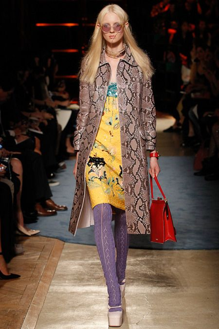 Miu Miu Spring 2014 Ready-to-Wear Collection Slideshow on Style.com:
