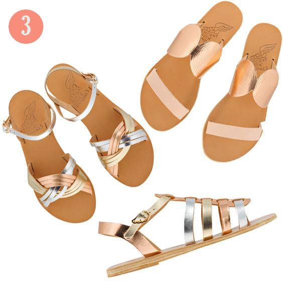 Ancient Greek Sandals SS13