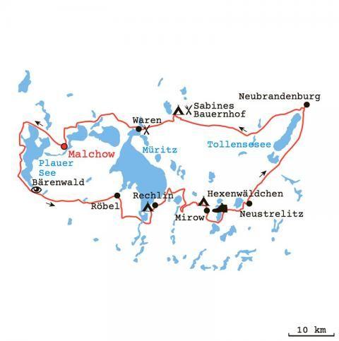 Wasserwandern Mecklenburgische Seenplatte Karte.Die Perfekte Bulli Tour Durch Die Mecklenburgische